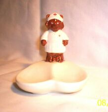 SpoonRest G238 106.1567.2 Ceramic Nurse Bear Spoon Rest