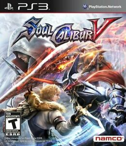 Soul Calibur 5 PS3 Great Condition Fast Shipping