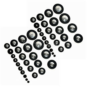 2-Sets-Black-Professional-Genuine-Leather-Tenor-Saxophone-Pad-25-Pcs-Per-Set
