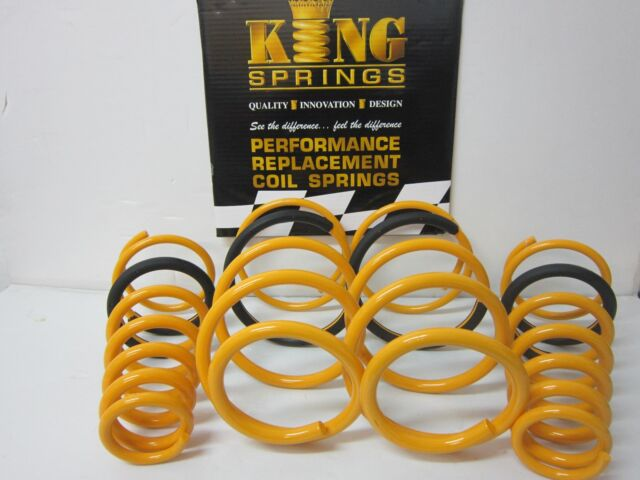 Lowered Front & Rear KING Springs to suit Commodore VF V6 Ute Models