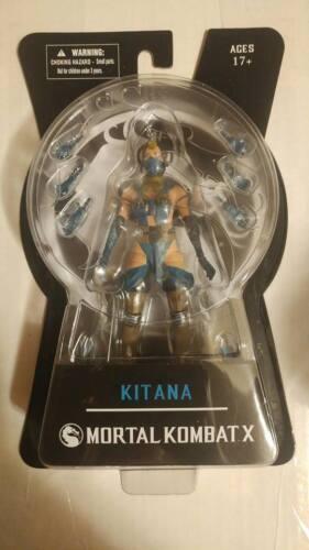 "Kitana Mortal Kombat X 6/"" Action Figure Mezco Toyz Series 2"