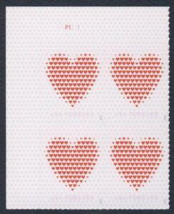 #5431 Amor: Hecho De Corazones, Placa Bloque [P1111 Ul ] Cualquier 5=