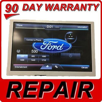 "2013-2016 Ford Fiesta OEM SYNC 2 6.5/"" Touch Screen Information Radio Display"