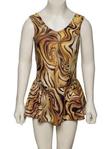 Kdr005 Ladies Variety of Animal des imprimés Sleeveless Leotard dress Katz Dancewear