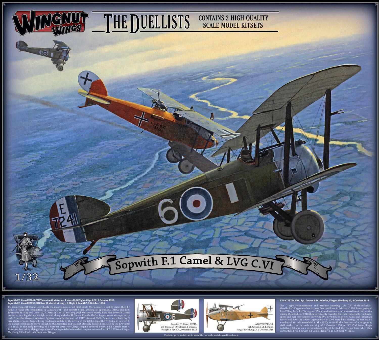 calidad fantástica Wingnut Wings 1 32 Sopwith F.1 Camel e e e Lvg C. Vi  32803  están haciendo actividades de descuento