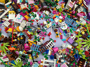 LEGO-30-Random-Friends-Girl-Color-parts-pieces-lot-Accessories-mix-tools
