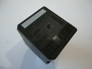 FORD MONDEO TRANSIT FOCUS GALAXY C-MAX 4 PIN BLACK RELAY P//N 6G9T-14B192-CA