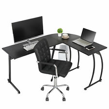 58 L Shaped Corner Desk Computer Gaming Desk Pc Table Writting Table Office