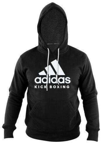 adidas Herren Community Hoody Kickboxing Schwarz-Weiss UVP 59,95 S M L XL 2XL