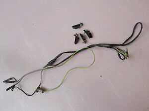 details about 65 66 67 68 mustang center floor console original wiring harness 1965 1966 1967 1966 Mustang Manual Transmission Console