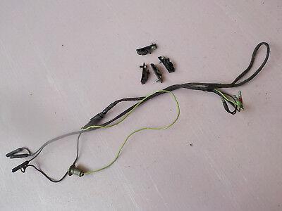 65 66 67 68 Mustang Center Floor Console Original Wiring ...