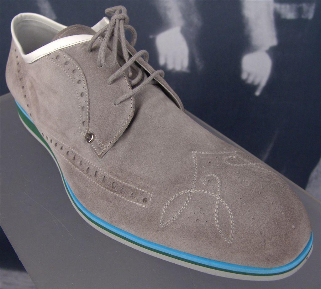 CESARE PACIOTTI EE. UU. 11 Cuero Italiano Luz Deportivo Oxford Zapatos para hombre