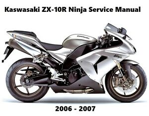 2006 kawasaki ninja zx10r manual