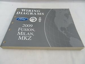 2009 FORD    FUSION       MILAN       MKZ       DIAGRAMS    SERVICE MANUAL OEM   eBay