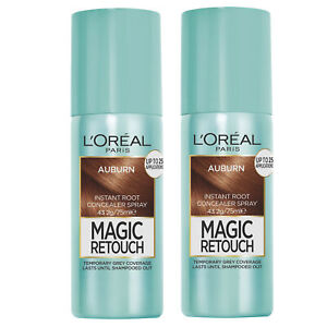 NEW L'Oreal Paris Magic Retouch Instant Temporary Root Concealer Spray Auburn...