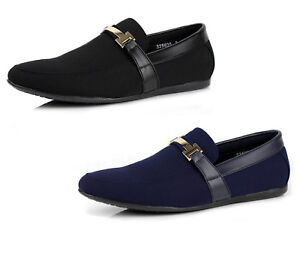 Mens-Casual-Smart-Slip-On-Shoes-Boat-Deck-Loafers-Comfort-Driving-Moccasins-NEW