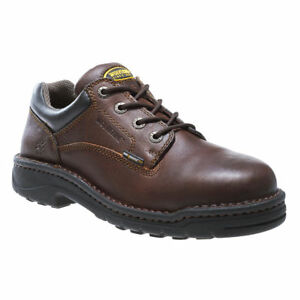 2a3908b63a4e Details about Wolverine Men s Exert DuraShocks Steel Toe EH Opanka Work  Shoe Brown