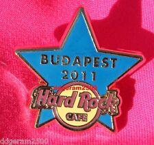 HARD ROCK CAFE BUDAPEST Blue Training Star STAFF 2011  #68549 Limited Edition 50