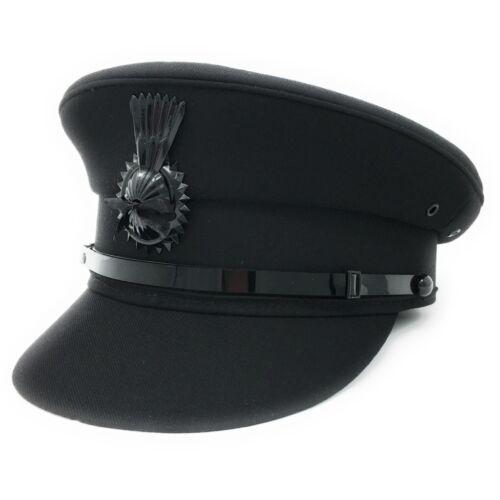 Nero o Grigio Cappello da uomo formale Autista driver di qualità professionale cap