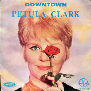 Petula-Clark-7-034-Downtown-3-rare-original-Mexico-EP-1965