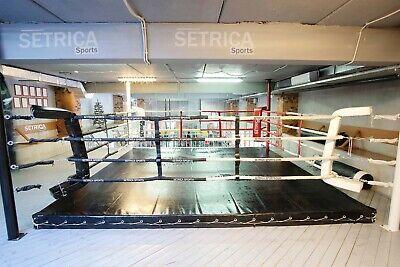 MMA Boxing Vinyl Boxing Professional Wrestling UFC,Ring Cover 18 FT Black