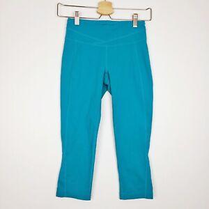 Lucy-Powermax-Hatha-Collection-Yoga-Athletic-Women-039-s-Capri-Pants-Blue-Sz-XS
