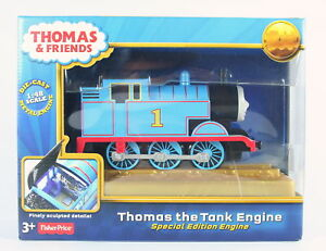 THOMAS-THE-TANK-ENGINE-70th-Anniversary-Special-Edition-metal-toy-train-NEW