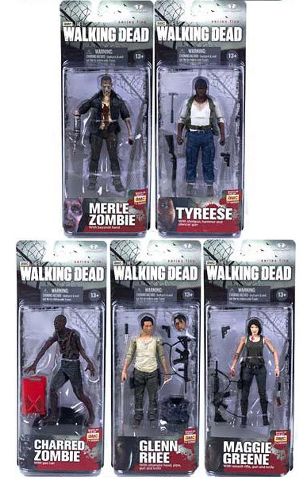 Authentische walking dead tv - serie 5, action - figuren