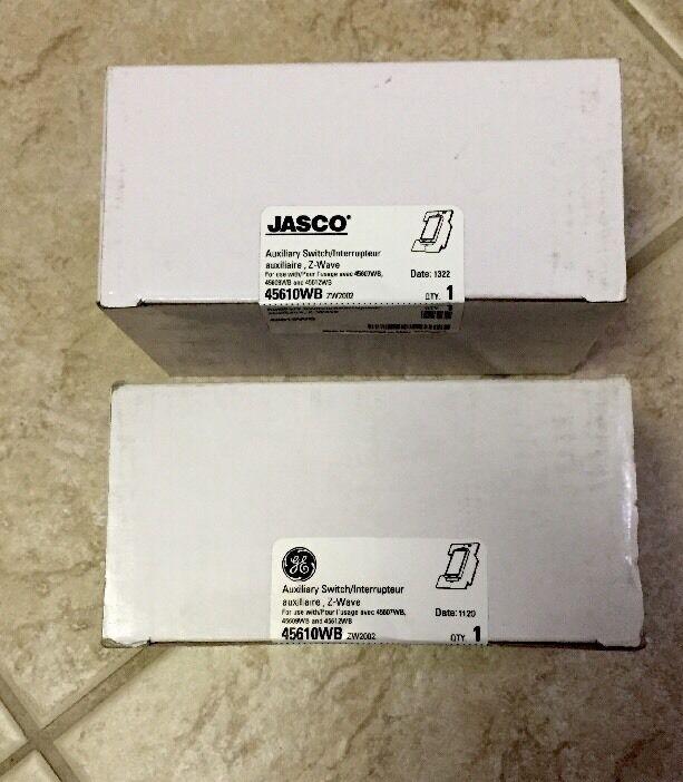 (1) Jasco 45610WB Auxiliary Switch