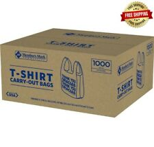 Members Mark Small T Shirt Carry Out Bags 1000 Ct