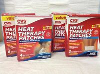Cvs Air Activated Heat Therapy Patches Pain Relief Neck Arm Leg & Small Areas