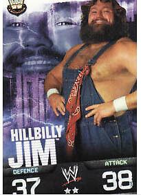 WWE Slam Attax Evolution Hillbilly Jim Legend Card