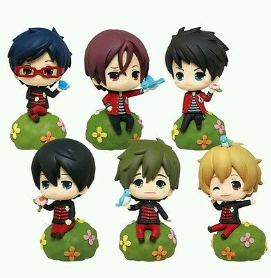 Free! Iwatobi Swim Club Flower Afternoon Figure set Haruka Rin Sosuke Eternal ES