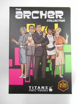 ARCHER COLLECTION MINI VINYL FIGURE FROM TITANS 1 x BLIND BOX