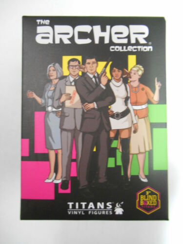 ARCHER COLLECTION MINI VINYL FIGURE 1 x BLIND BOX FROM TITANS