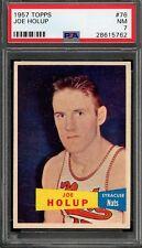 1957 Topps Joe Holup #76 Basketball Card