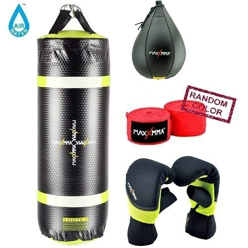 Heavy Bag Speed Bag Neoprene Gloves HandWrap MaxxMMA Water//Air 3 ft