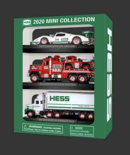 3 Vehicles in one set Brand new in sealed box! 2020 Hess Mini Truck Collection