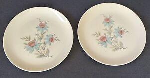 Vintage-Canonsburg-034-Fairlane-034-Dura-Gloss-10-034-Dinner-Plates-Set-of-2