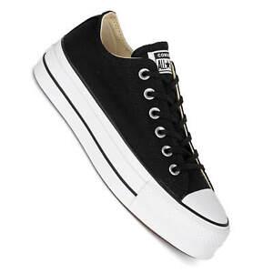 suche nach original Auschecken einzigartiger Stil Details zu Converse Plateau Chucks CTAS Lift ox Platform Damen Sneaker  black/white 560250C