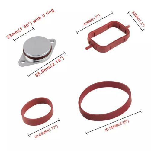 6x33mm Bouchon Clapet Volet Admission joint collecteur swirl flap Pour BMW 330d
