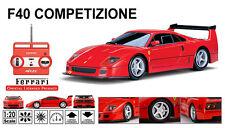 Licensed 1/20 Scale Ferrari F40 Competizone RTR Ready To Run Diecast RC Car NEW
