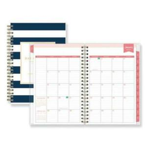 photograph regarding Daily Designer named Data relating to Blue Sky BLS103623 Working day Designer Everyday/regular Planner, 5 X 8, Army/white, 2020