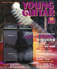 Young Guitar Magazine October 2000 Japan Iron Maiden Halford Symphony X