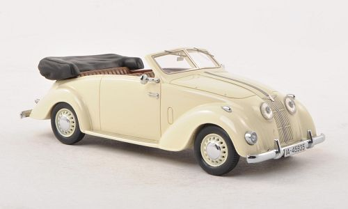 Adler 2,5l Convertible 1937 Cream 1 43 MODEL NEO scale Models