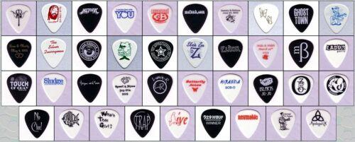 ~ Single-sided Imprinting Your Own Custom Imprinted Guitar Picks ~ 144 picks