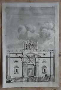 Jacopo-AMIGONI-1682-1752-Original-Kupferstich-Anno-1739-Italien-Rom-Antike-4