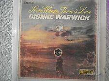 DIONNE WARWICK...HERE WHERE THERE IS LOVE..4 TRACK TAPE CARTRIDGE..ALFIE