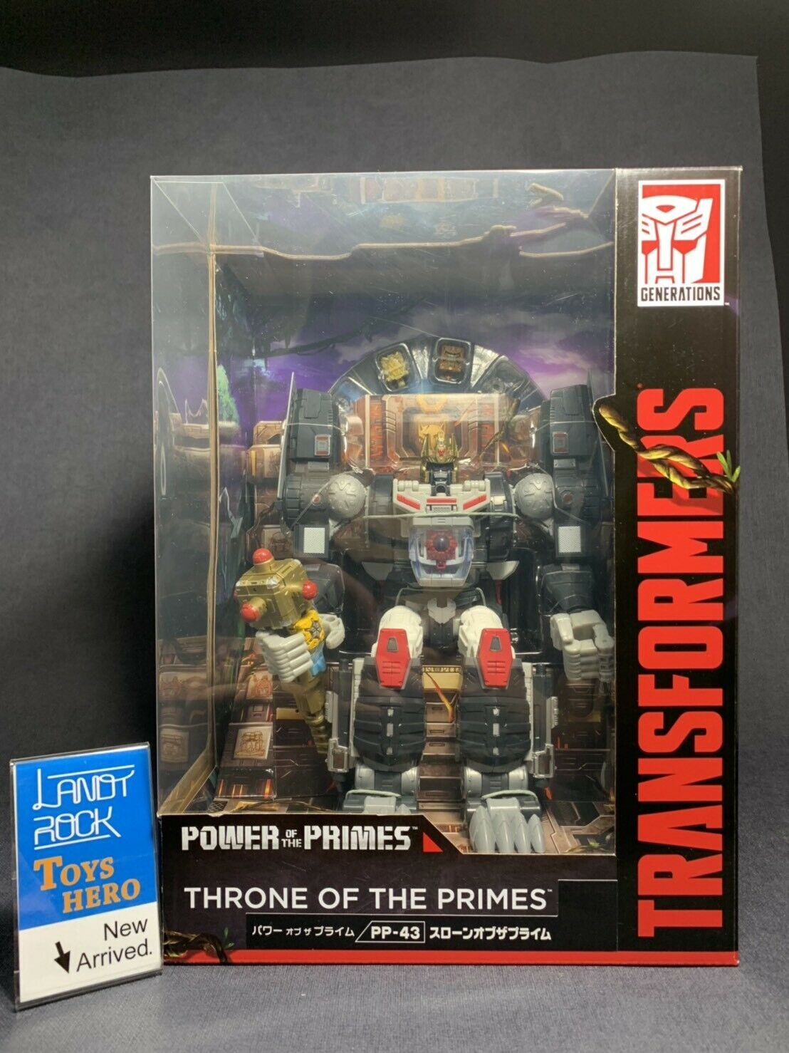 [Toys Hero] In Hand Transformers Power Of The Primes Primes Primes PP-43 Throne Of The Prime 336