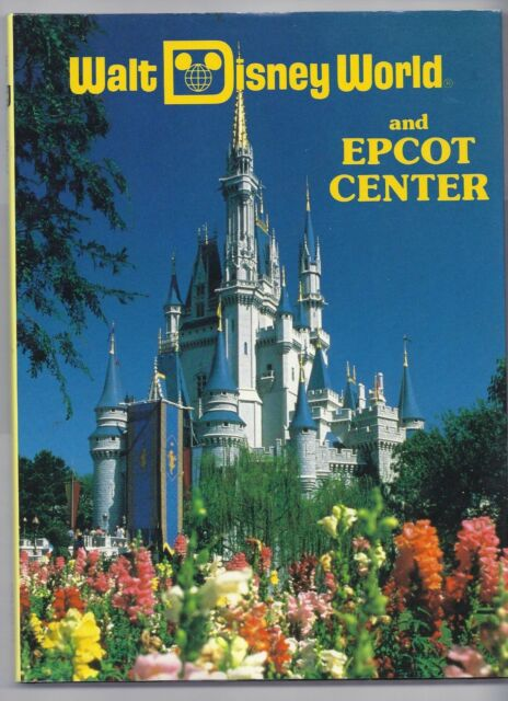 1990 walt disney world and epcot center by valerie childs